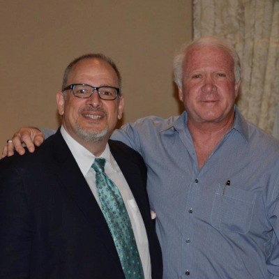 Dr. Richard Frieder, President of Infinity Vision Alliance with Robert Bell, Managing Partner, The Visionaries Group.