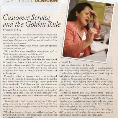 Customer Service - Golden Rule